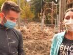 Stefano Elisa volontari Limone Piemonte