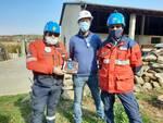 Simulazione protezione civile carabinieri Farigliano
