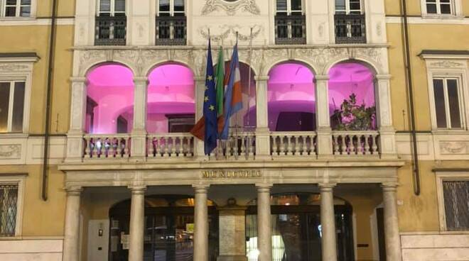 Mondovì municipio rosa