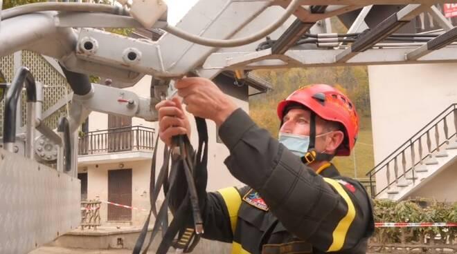 Vincenzo Bennardo comandante vvf Cuneo