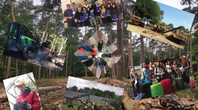 scuola forestale di ormea progetto erasmus