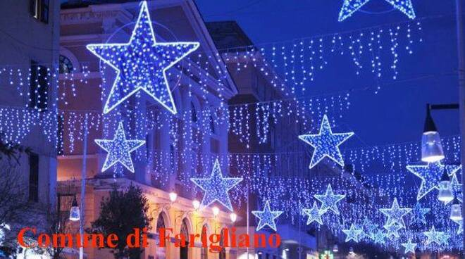 luminarie natalizie Farigliano