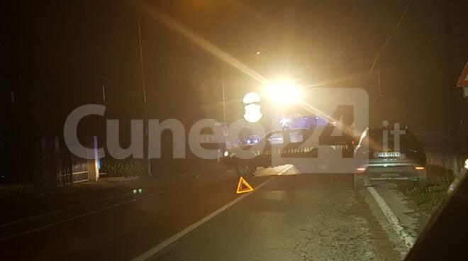 incidente stradale san lorenzo peveragno