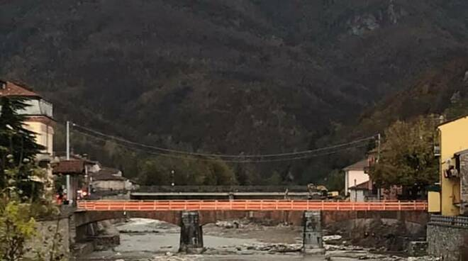 Ponte Garessio prima della demolizione