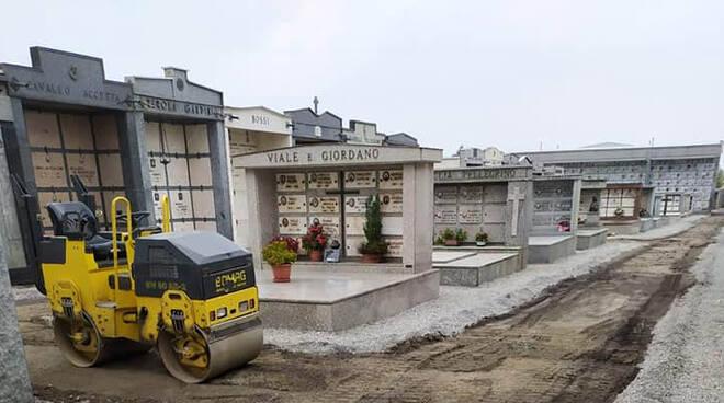 cimitero boves lavori ottobre 2020