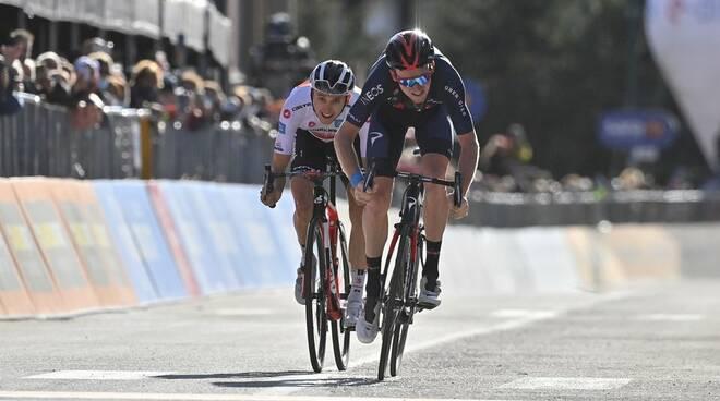 Arrivo Alba Sestriere Giro 2020