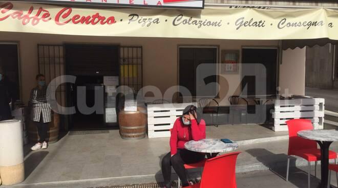 protesta barista Farigliano
