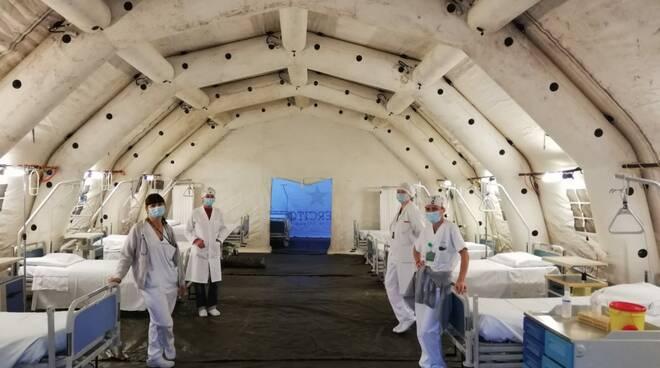 ospedale da campo a Cuneo