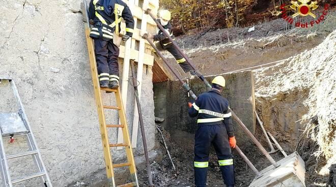 Chiesa San Pancrazio Limone Piemonte vigili fuoco