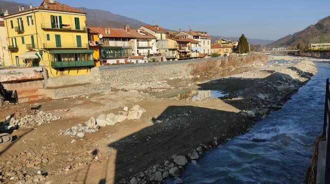 Garessio abbattuto ponte Odasso