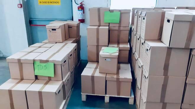 scatoloni tamponi rapidi