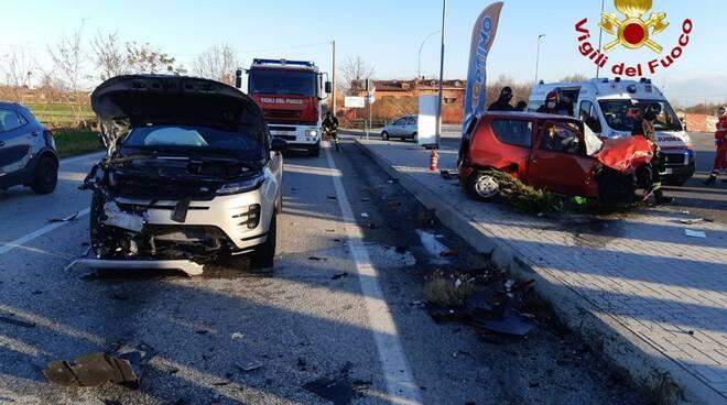 incidente stradale bovesana