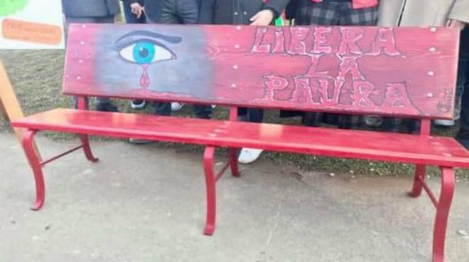 panchina rossa Vicoforte
