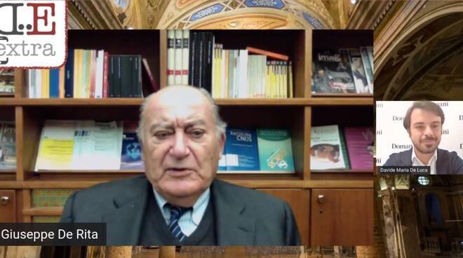 Giuseppe De Rita Censis