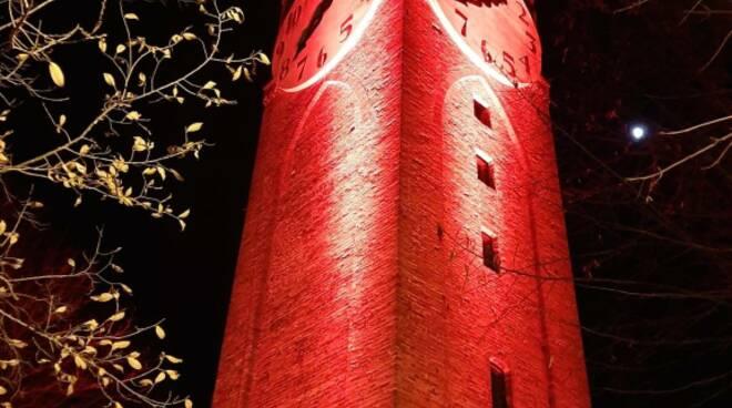 Torre Belvedere rossa Mondovì