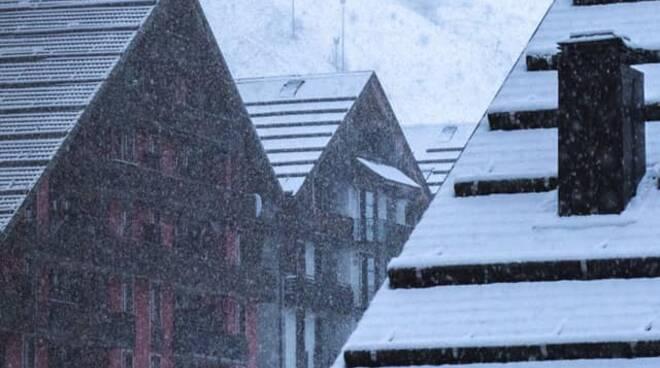 Prato Nevoso nevicata 28 novembre 2020