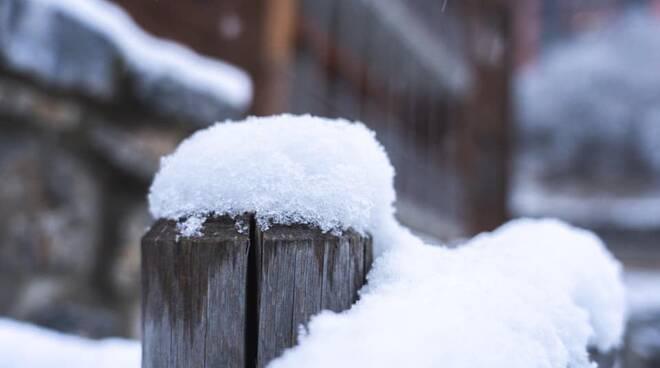 Prato Nevoso nevicata neve 28 novembre 2020