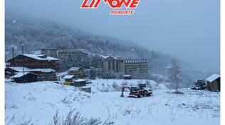 Limone Piemonte nevicata 28 novembre 2020