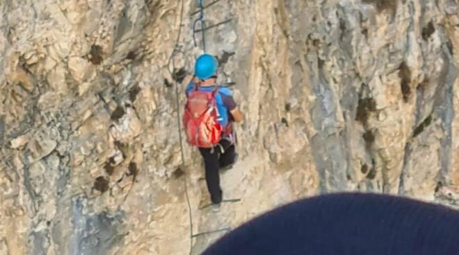 soccorso alpino sentiero camoglieres
