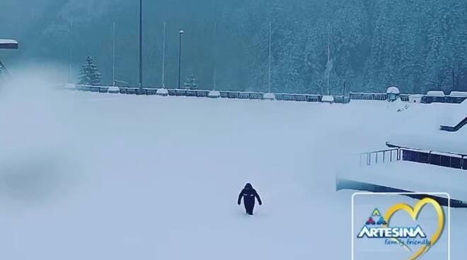 Artesina nevicata 1°-2 dicembre