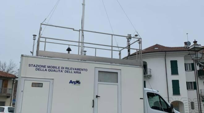 Arpa Piemonte rilevamento qualità aria