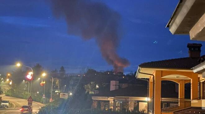 Incendio Branzola Villanova Mondovì 2020