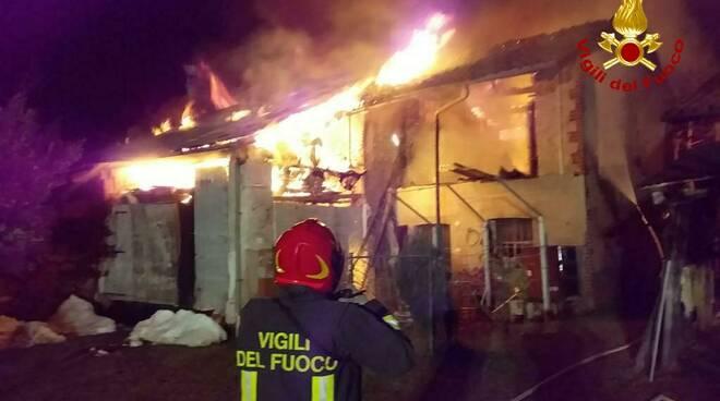 Incendio Branzola 2020