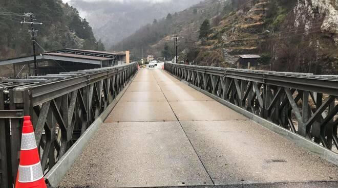 ponte militare a Tenda foto Armando Erbì