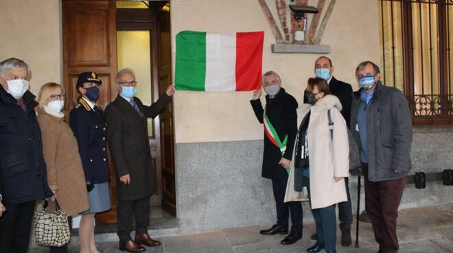 Inaugurazione sportello questura passaporti Alba