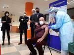 Giuseppe Guerra vaccino a Cuneo