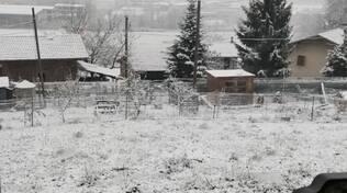 Neve a Dronero 01/12/2020