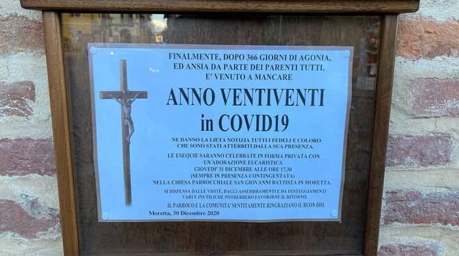 manifesto funebre covid