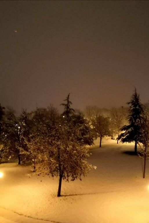 nevicata 2020 Mondovì