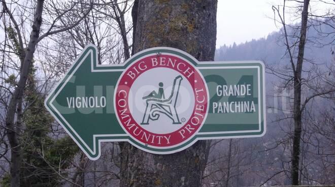 panchina gigante San Maurizio Cervasca