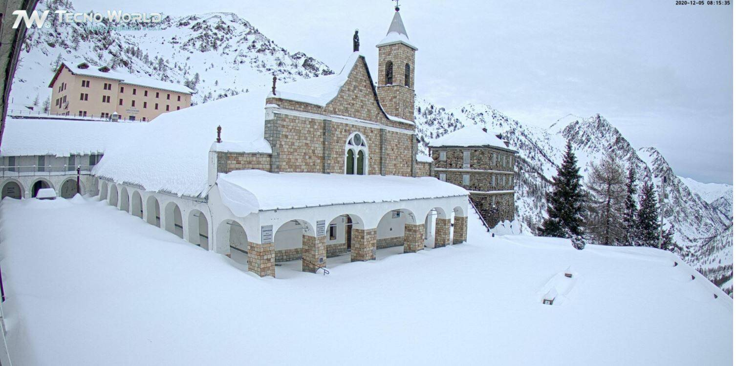 Sant'anna di Vinadio neve