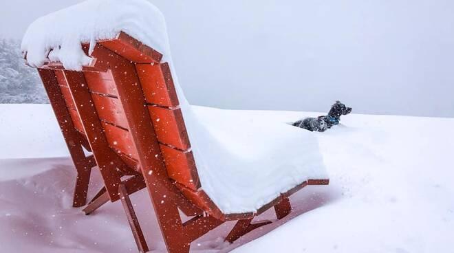 Neve Prato Nevoso 5 gennaio 21