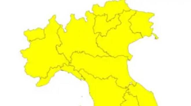 Italia zona gialla