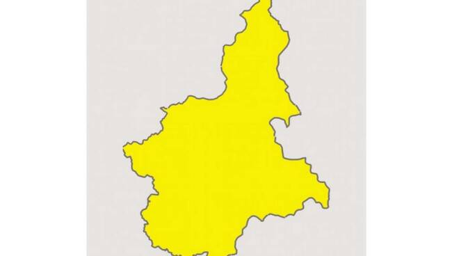 Piemonte zona gialla