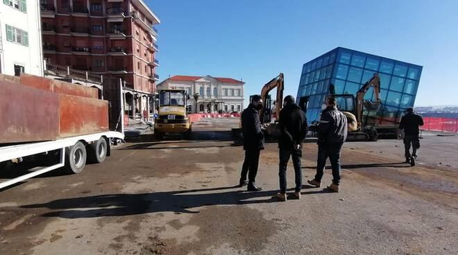 piazza vittorio veneto lavori fossano