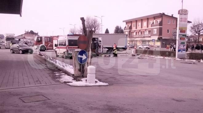 Incidente a Morozzo gennaio 2021