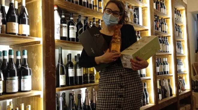 Noemi Ambrosio enoteca Alta Quota Limone Piemonte