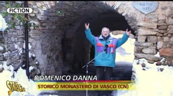 Striscia la notizia a monastero di vasco