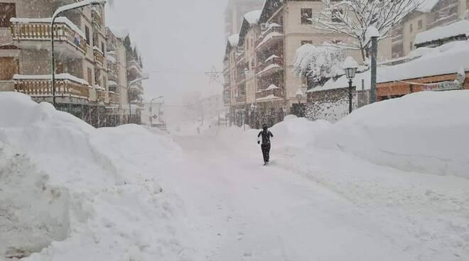 San Giacomo di Roburent neve