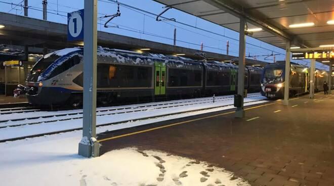 treni neve stazione di CUNEO