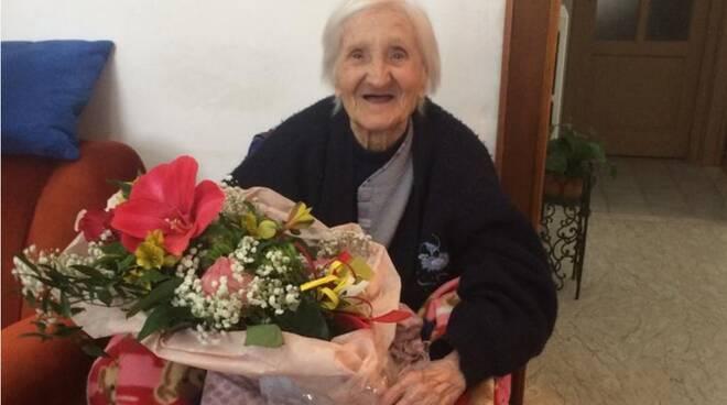 Francesca Nannarone 104 anni Garessio