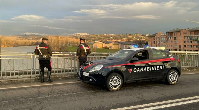 carabinieri Alba Ponte sul Tanaro