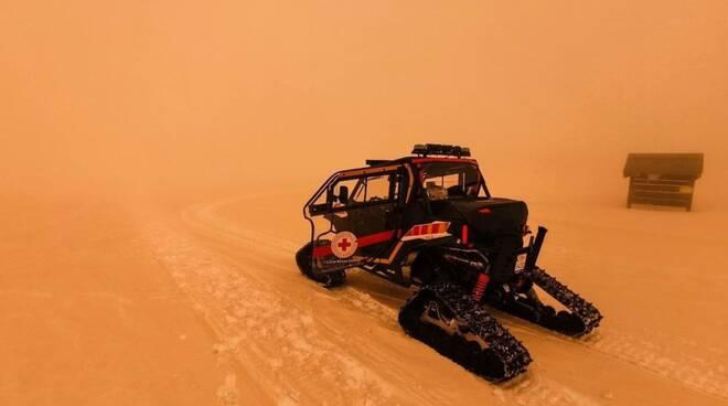 sabbia rossa Piemonte