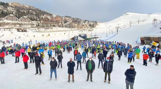 flash mob Prato Nevoso 2021