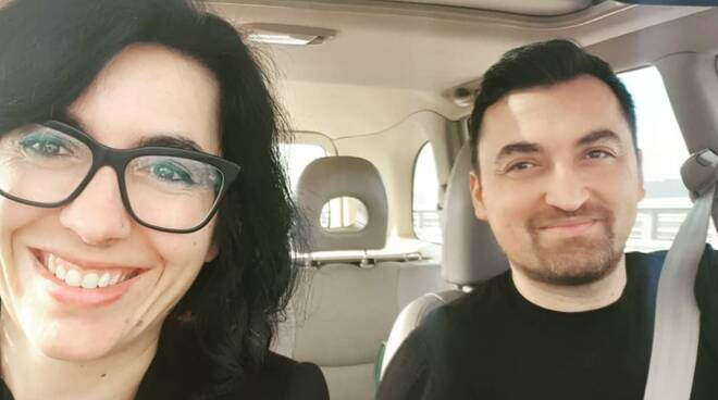 Fabiana Dadone ed Ergys Haxhiu