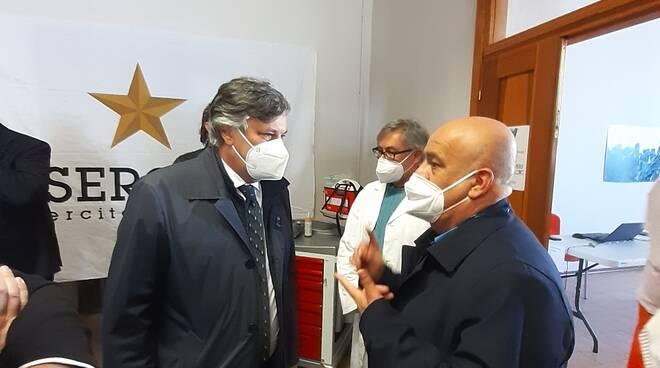 inaugurazione centro vaccini ignazio vian cuneo